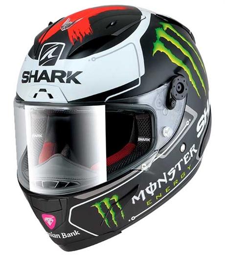 mc hjälm shark