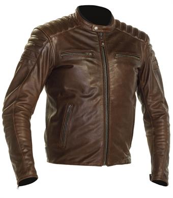 MC/Biker wear Röda Damjackor från Richa i Buffelskinn