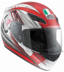 AGV K-4 Evo Hang On Red