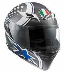 AGV Skyline Psyco Blue