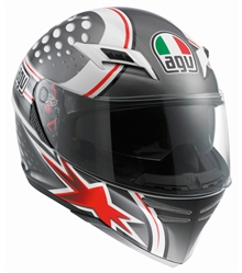 AGV Skyline Psyco Red